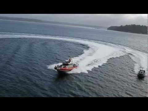 65-Foot Bravest and SAFE Center Console-Offshore aerial footage