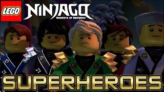 Download Lagu Superheroes - Ninjago Tribute (The Script) Mp3