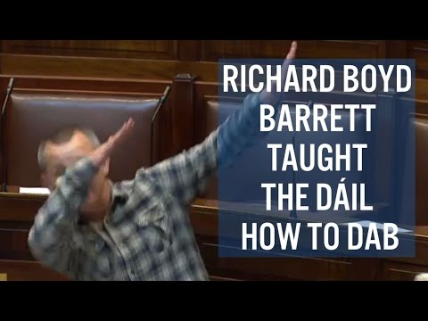 Richard Boyd Barrett Taught The Dáil How To Dab