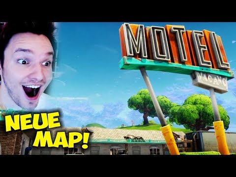 🔴 FORTNITE BATTLE ROYALE - DIE NEUE MAP IST DA !!!
