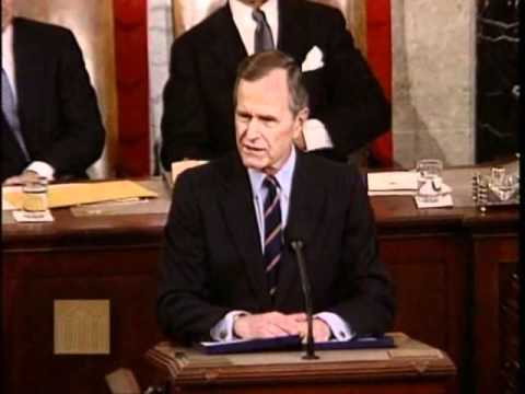 George H.W. Bush-State of the Union Address (January 28, 1992)