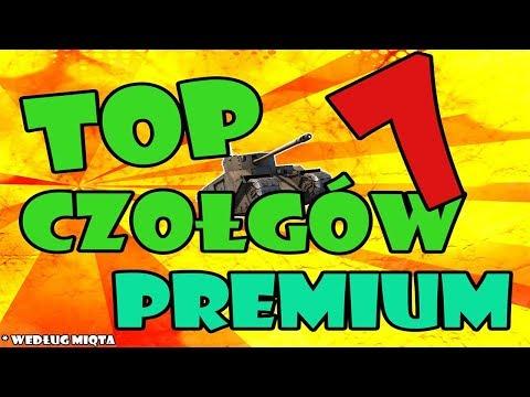TOP 7 ULUBIONYCH CZOŁGÓW PREMIUM/SPECJALNYCH [World of Tanks PL] thumbnail