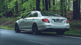 2018 Mercedes-AMG E 63 S 4MATIC+   - launch control acceleration, lovely sound and more!