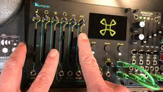 POLYGOGO Morphing Soundscapes - Stereo Oscillator - Sound Demo #1 - Eurorack Modular Synthesizer