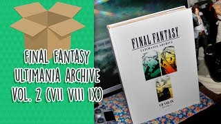 Final Fantasy Ultimania Archive Vol 2 (VII VIII IX)
