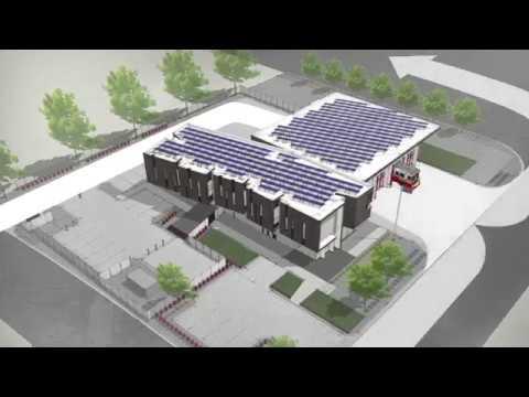 Salt Lake City's First Net Zero Fire Station #14