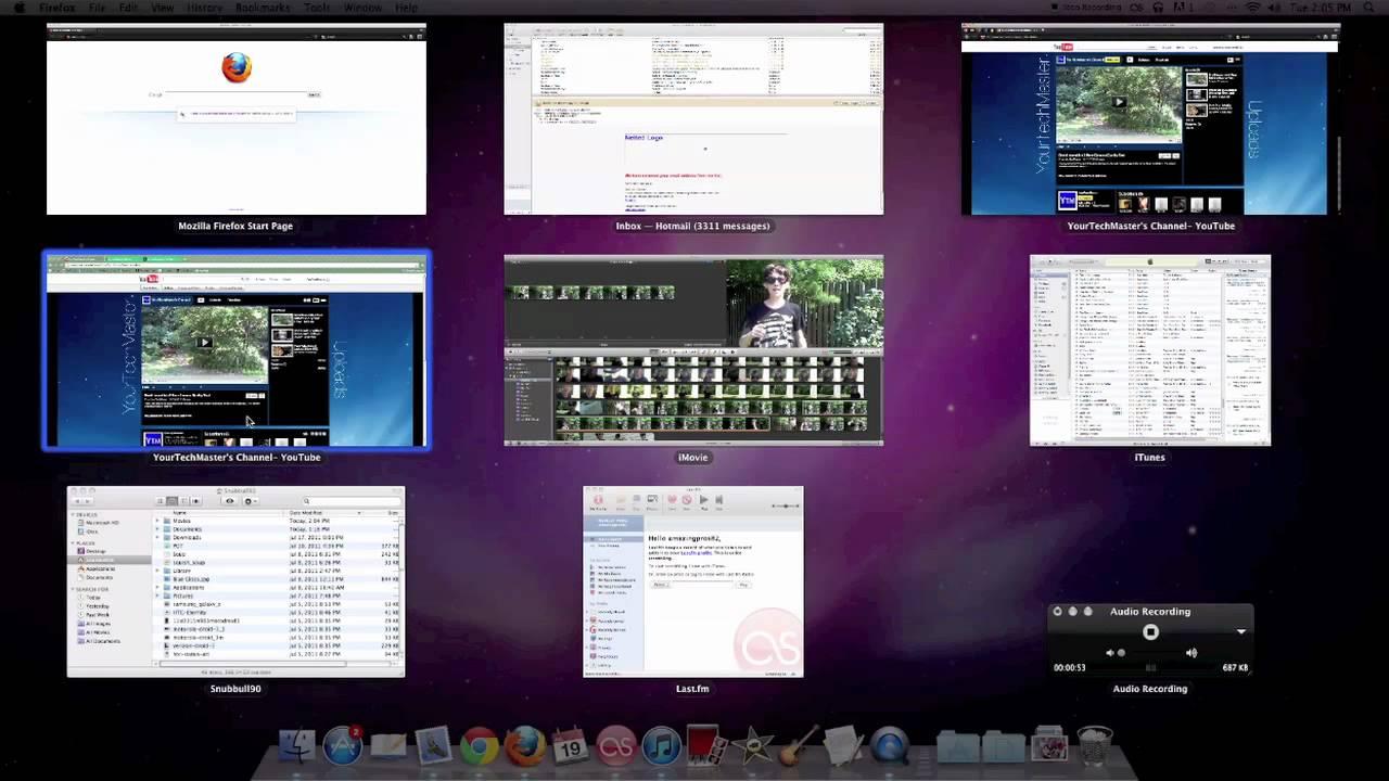 Helpful Multitasking Tip/ Trick for iMac, Macbook Pro/ Air 2011 ...
