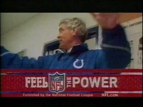 1999 - Indianapolis Colts Coach Jim Mora Spot & CBS Sports Bumper