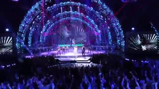 Qaasim Middleton with Pitbull and Chris Brown,  Fun    AMERICAN IDOL XIV 360p