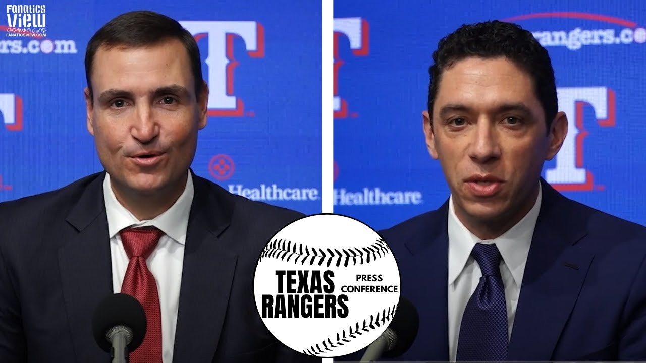 Texas Rangers introduce Chris Young as General Manager & VP | Full Press Conference