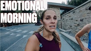 MOM UNABLE TO RUN RACE AFTER INJURY | EMOTIONAL MORNING REFLECTING ON WHAT MIGHT HAVE BEEN
