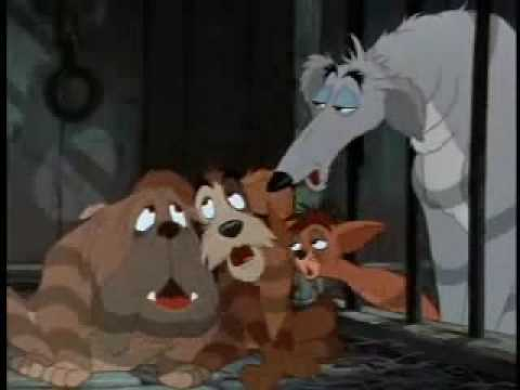 Crying In The Pound Lady And The Tramp Scene  YouTube