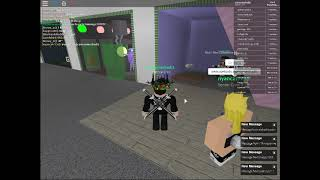 Destroying booths in Roblox Emerald Theatre V4