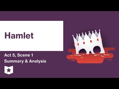 Hamlet by William Shakespeare | Act 5, Scene 1 Summary & Analysis