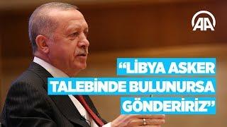 """Cumhurbaşkanı Erdoğan, """"Her İnsan Bir Dünya"""" temalı programda konuşuyor."""