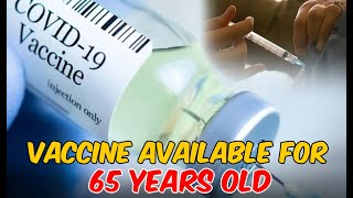 Vaccines Now Available For 65 Years or Older | Interpreted In Sign Language for Deaf People