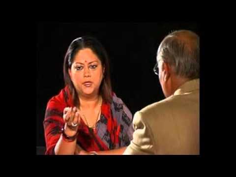 Seedhi Baat Vasundhra Raje Scindhia with Prabhu Chawla