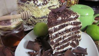 Рецепт- Шоколадный торт на сковородке