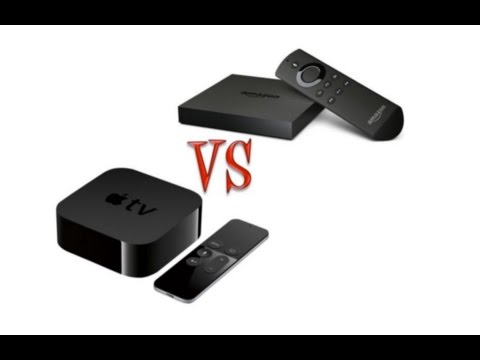 Apple TV vs Amazon Fire TV - Which One to Buy?