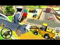 Railroad Tunnel Train Construction Simulator - Construction Vehicles - Android GamePlay