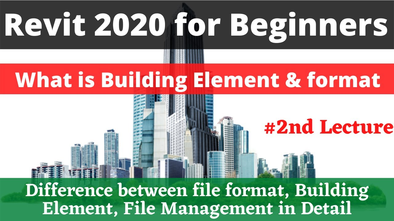 Building Element In Revit Architecture 2 Pts Cad Expert Revit 2020 For Beginners Youtube