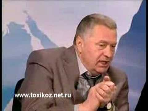 Жириновский бьёт Гоцу на теледебатах