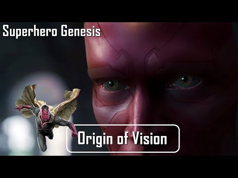 Who is Vision? | Superhero Genesis | Origin of Vision | SFT (Hindi) 😇