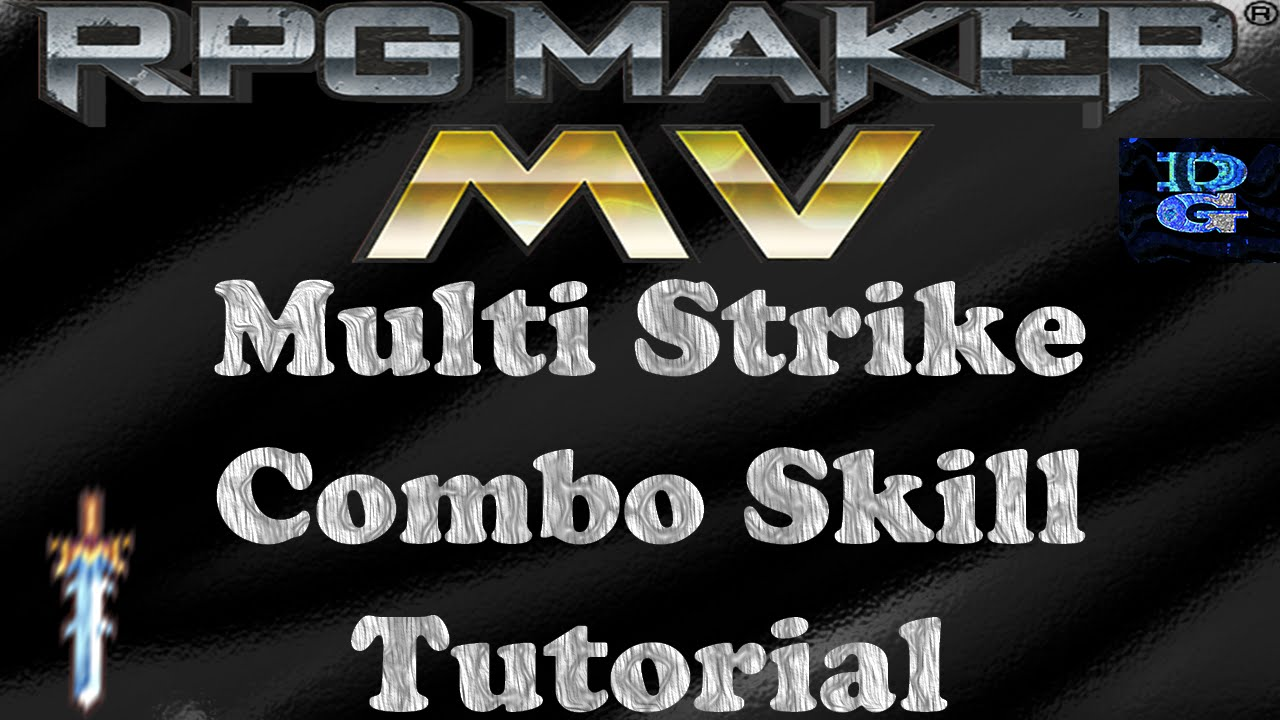 RPG Maker MV Multi Strike Combo Skill Tutorial