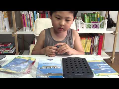 ThinkFun/ River Crossing Board Game/리버크로싱/아슬아슬 강 건너기/보드게임/