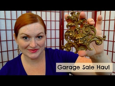 Garage Sale Haul Video - Turning $10 into $700 - Silver Jewelry - Make Money Selling Online