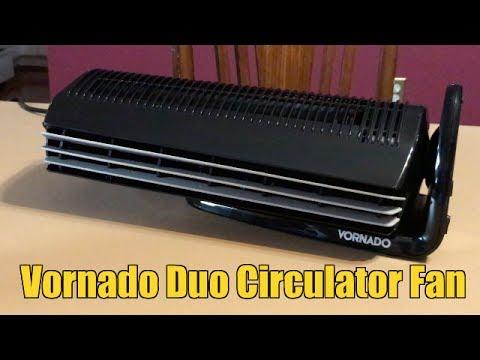 Vornado Duo Small Room Tower Air Circulator Fan Unboxing