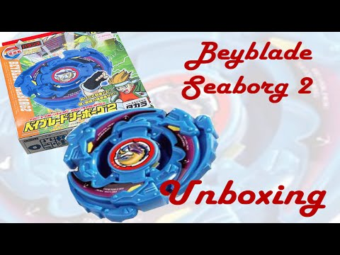 Beyblade A-40 Seaborg 2 Unboxing and Battle!