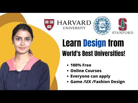 FREE Online DESIGN Courses (List by a Designer)