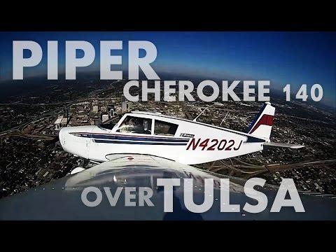 Episode 59 - Piper Cherokee 140 Over Tulsa