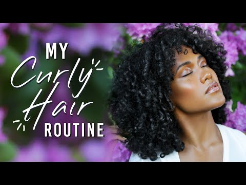 My Updated Curly Hair Routine thumbnail
