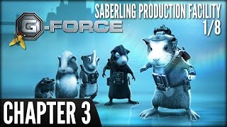 G-Force (PS3) -  Chapter 3: Saberling Production Facility (1/8)
