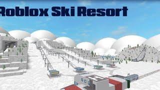 ROBLOX Ski Resort - Niños jugando y enseñando a mamá cómo jugar Roblox videojuego!