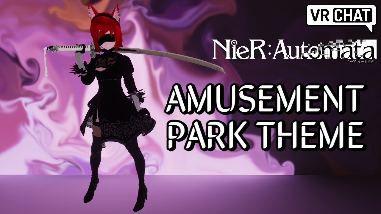 AMUSEMENT PARK THEME - NieR: Automata (VRChat full body tracking freestyle dancing)