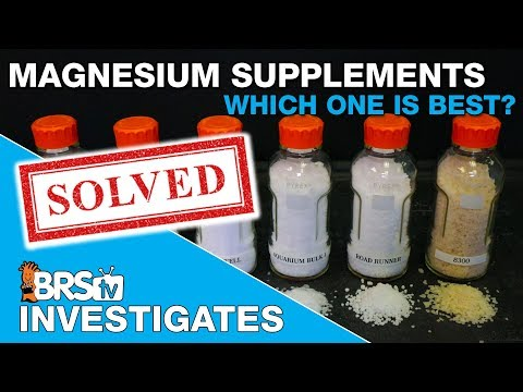 Reef Tank Magnesium Supplements. Which One Is Best?  | BRStv Investigates