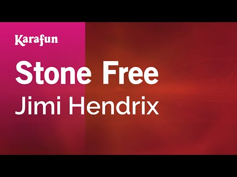 Karaoke Stone Free - Jimi Hendrix *