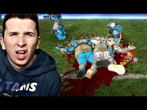 THE MOST DISTURBING NFL FOOTBALL VIDEO GAME EVER MADE!