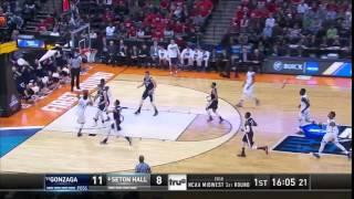 Seton Hall vs. Gonzaga: Desi Rodriguez dunk
