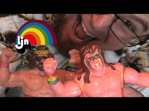 LJN WWF Wrestling Superstars Figures Colection  and tell