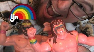 LJN WWF Wrestling Superstars Figures Colection (Show and tell)