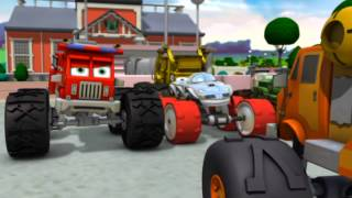 """Bigfoot Presents: Meteor and the Mighty Monster Trucks - Episode 28 - """"Concrete Pete"""""""