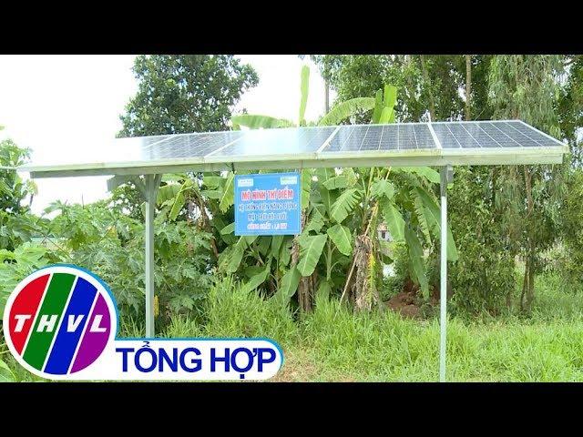 THVL | Nông nghiệp bền vững: Ứng dụng pin năng lượng mặt trời phục vụ tưới tiết kiệm nước...