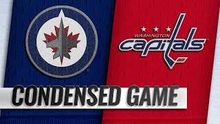 03/10/19 Condensed Game: Jets @ Capitals