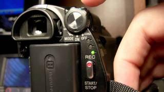 rparation Camra sony DCR  vx2200E Connnecteur AV