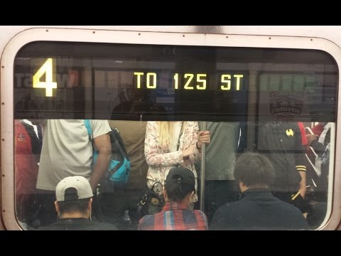 MTA NYC Subway: On Board 125th Street Bound R142 (4) Train From Woodlawn to 125th Street