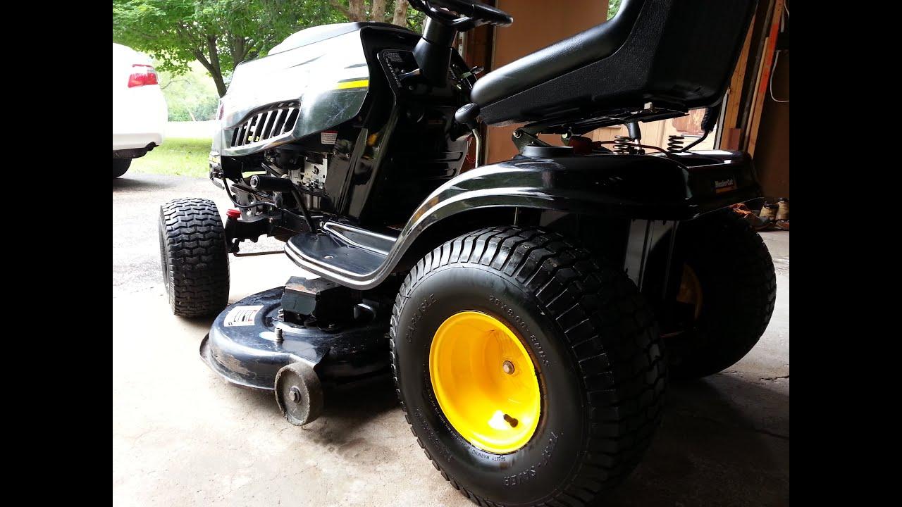 Mastercut Mtd Lawn Tractor Youtube